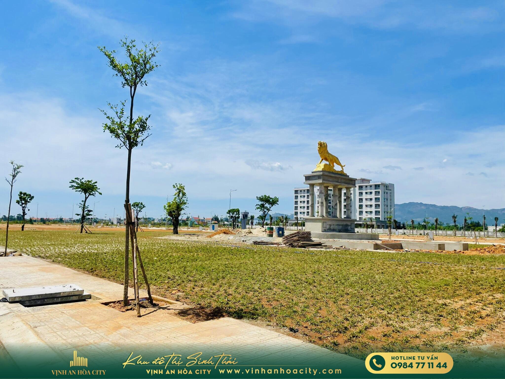 Cập nhật tiến độ dự án Biệt thự Hoa Sứ Vịnh An Hoà City