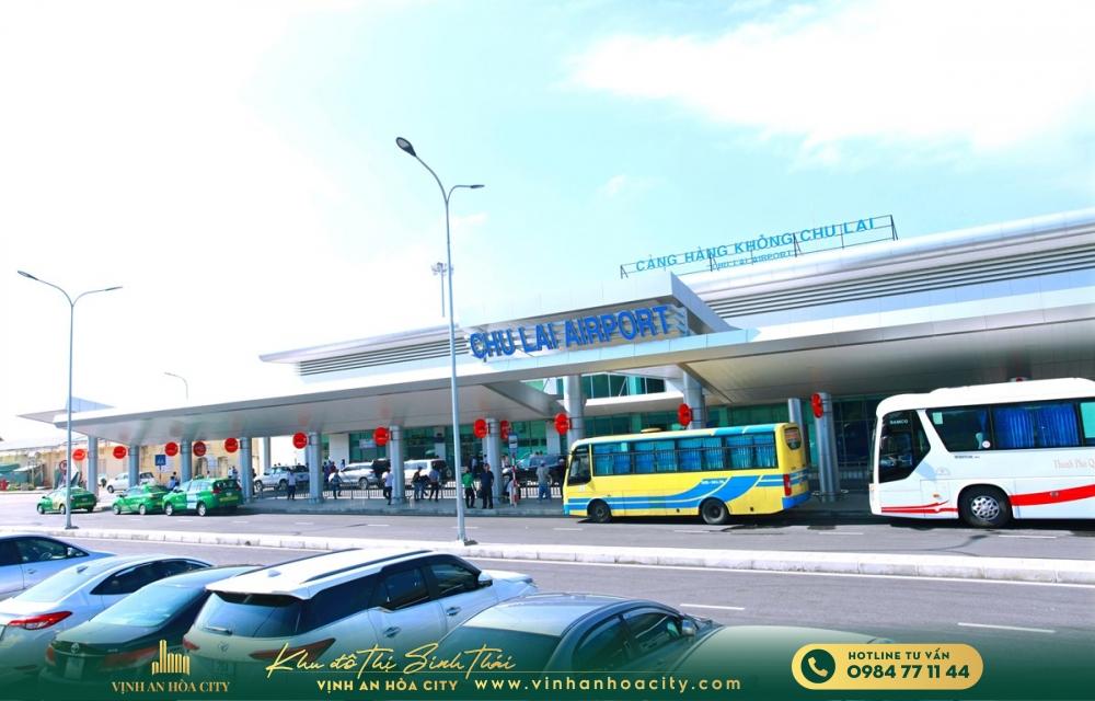 Quảng Nam đề xuất nâng công suất sân bay Chu Lai lên 10 triệu khách/ năm vào 2030