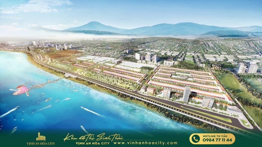 Hệ thống đô thị Logistics được thiết kế đồng bộ của Vịnh An Hòa City